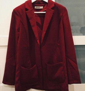 Длинный пиджак