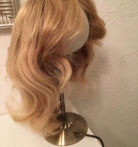 Продаю парик из натуральных волос 40 см