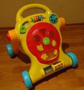 Ходилка с игрушками и сортер