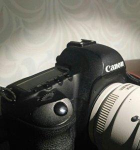 Зеркальный фотоаппарат 5D mark II с оптикой