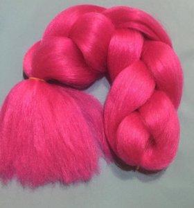 Канекалоновые цветные косички, брейды 120 см