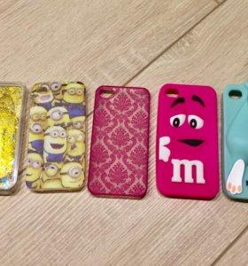 Чехлы для iPhone 📱4-4s