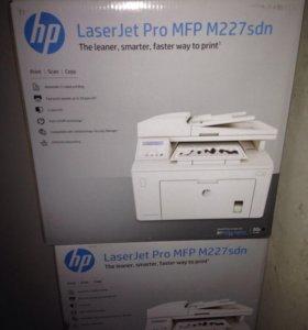 HP LaserJet mfp 227 sdn, мфу 3в1