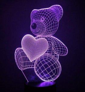 3D светильник (ночник)