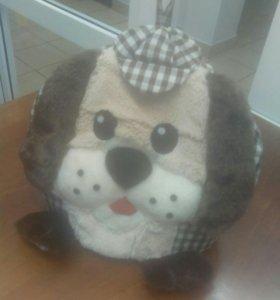 Собачка - грелка на чайник