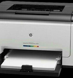 Принтер цветной HP Laser Jet Pro CP1025