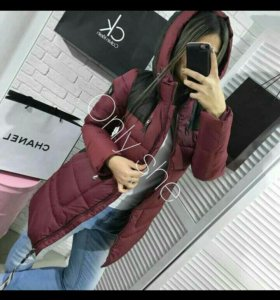 Новые куртки, зима. Размеры 44-46-48