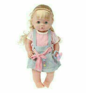 Интерактивная кукла( кроватка и аксессуары)