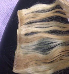Волосы натуральные-Трессы