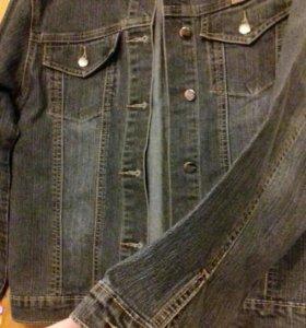 Джинсовая куртка XL (46р)