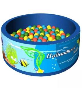 Сухой бассейн +300 шариков