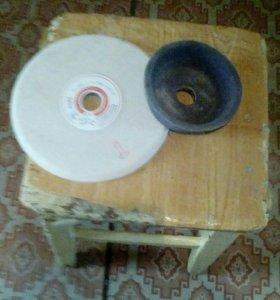 Наждачный и шлифовальный чашечный круги
