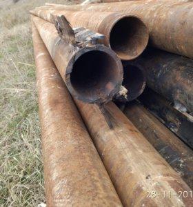 продам железные электро столбы и трубы буровые