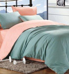 Семейное постельное белье , сатин