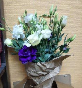 Цветы для букета (эустома)