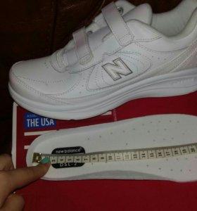 Новые кросовки new balance из натуральной кожи