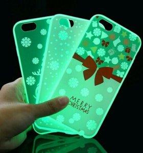 ✨СВЕТЯЩИЕСЯ НОЧЬЮ ЧЕХЛЫ ДЛЯ iPhone 6,6S✨