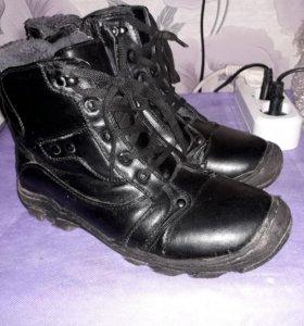 Зимние мужские ботинки.б/у размер39