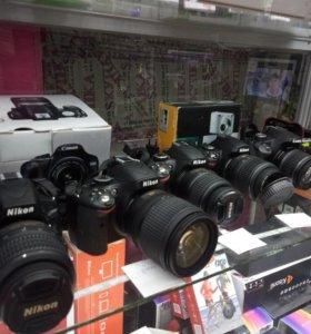 Фотоаппарат, nikon, Canon