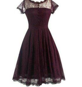 Коктейльное платье(S)