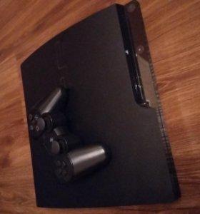 PlayStation 3 slim + 15 игр