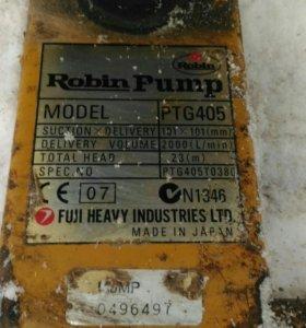 Мотопомпа РобинСубару для грязной воды
