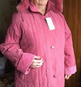 Новая куртка 58-60р