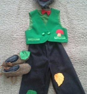 Новогодний костюм ёжика