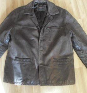 Кожаная куртка из буйволиной кожи