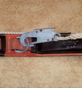 Пояс Монтажный со стропом из каната и карабином