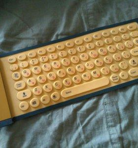 Гибкая влагозащищенная клавиатура OTG