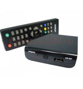 Цифровой ресивер DVB-T2 HD917 + HD плеер 1080i