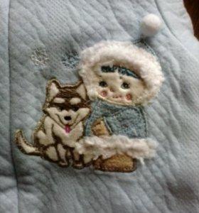 Одежда ( комбинезон  ) детский новый теплый