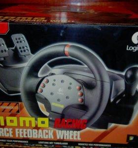 Игровой руль «Momo» «Logitech»
