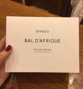 Духи Bal D'Afrique Byredo