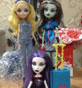 Monster High , Ever After High куклы