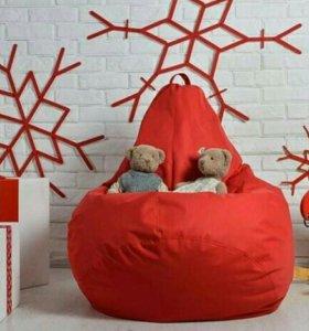 Бескаркасное подарочное кресло