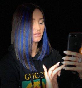 Press slider для праздничной покраски волос