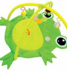 "Детский развивающий коврик ""Лягушка"""