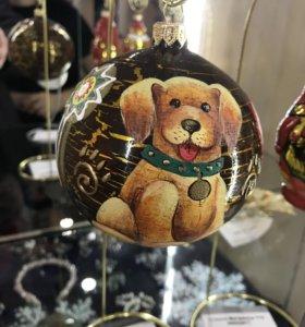 Ёлочные игрушки(украшения) для новогодней ёлки.