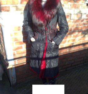 Новое зимнее меховое пальто