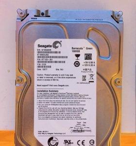 Жесткий диск seagate barracuda st1000dl002