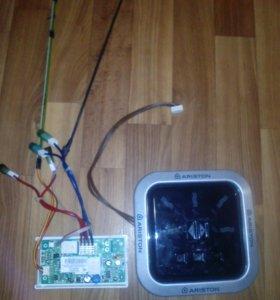 Сенсор и блок управления на водонагреватель.