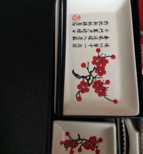 Подарочный набор для суши новый