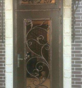 Кованые двери, перила, решетки и многое другое