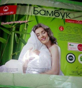 Одеяло бамбук евро макси