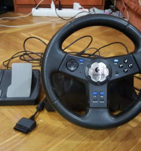 Руль logitech rally vibration feedback wheel