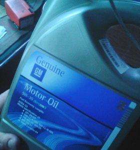масло GM Dexos 2 5/30 Синтетическое