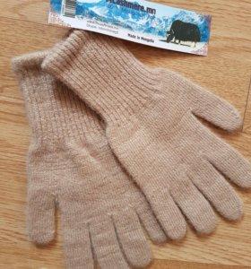 Перчатки натуральная шерсть