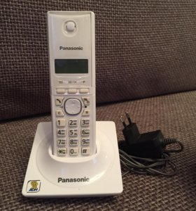 Panasonic KX-TG 1711 RUW Телефон беспроводной DECT